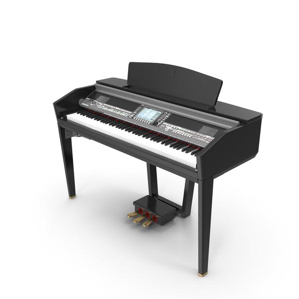 Digital Piano Clavinova Yamaha CVP-505 PNG & PSD Images
