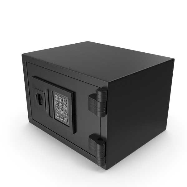 Digital Safe Closed PNG & PSD Images