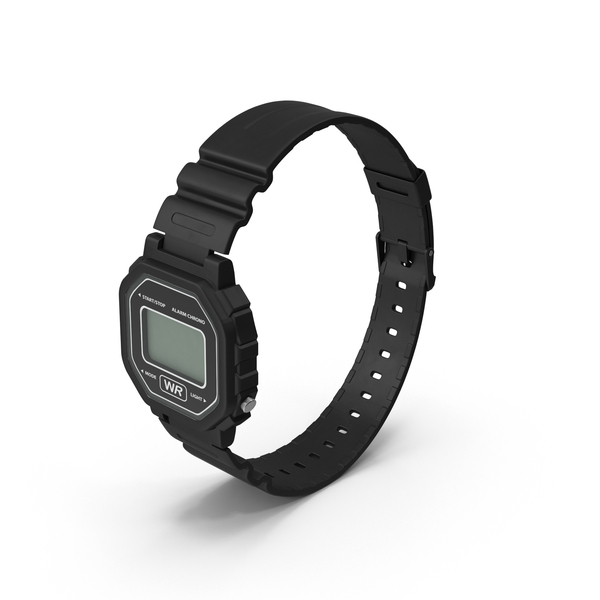 Digital Watch Object