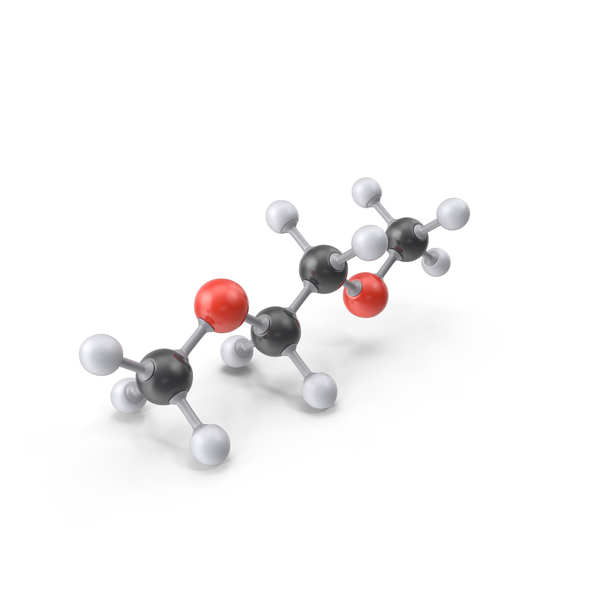 Dimethoxyethane Molecule PNG & PSD Images