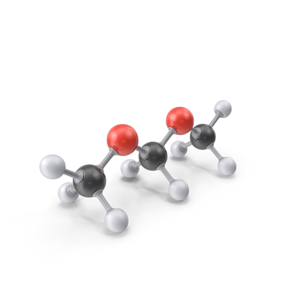 Dimethoxymethane Molecule PNG & PSD Images