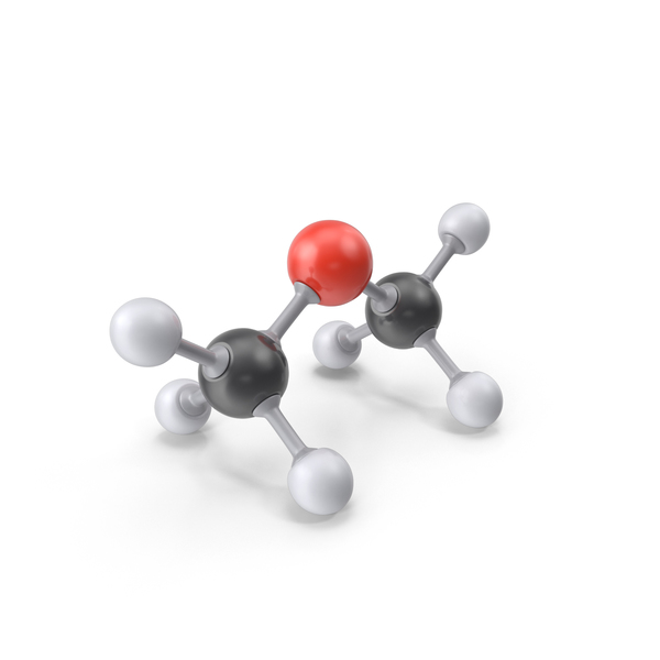 Dimethyl Ether Molecule PNG & PSD Images