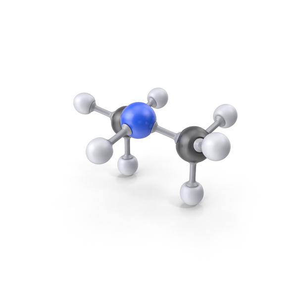 Dimethylamine Molecule PNG & PSD Images