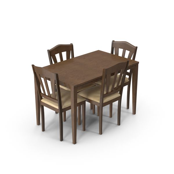 Room: Dining Set PNG & PSD Images