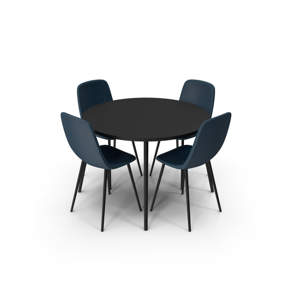 Room Set: Dining Table PNG & PSD Images