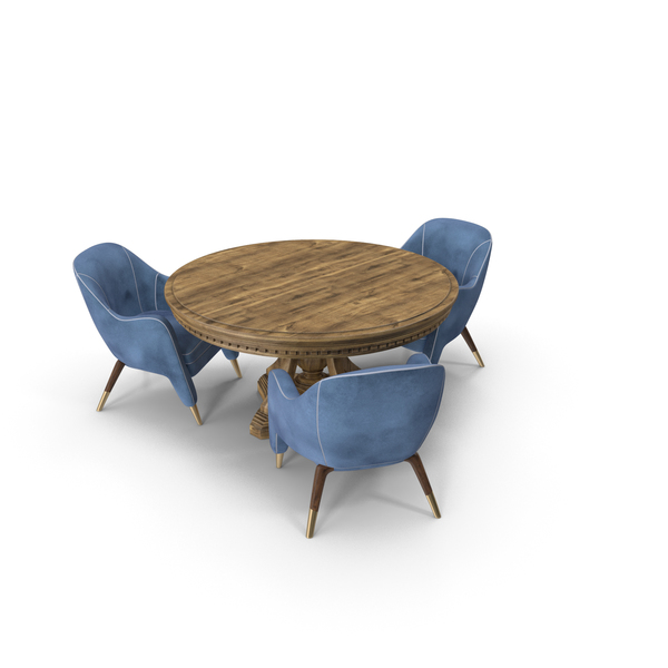 Dining Table Set PNG & PSD Images