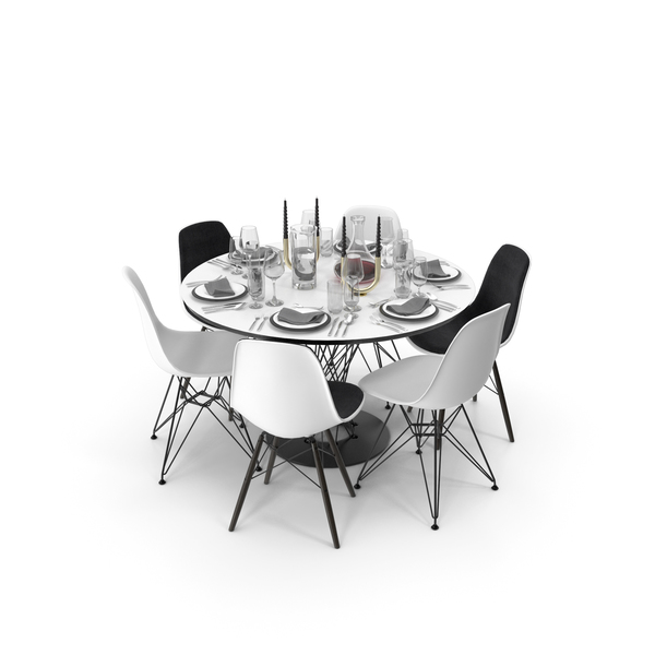 Dining Table Vitra PNG & PSD Images