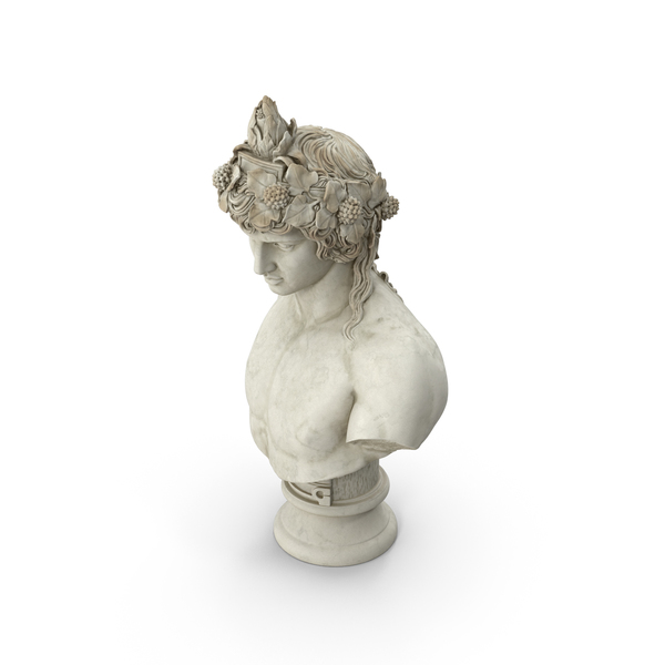 Dionysus Bust PNG & PSD Images