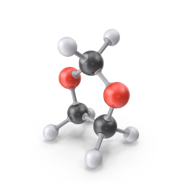 Dioxolane Molecule PNG & PSD Images