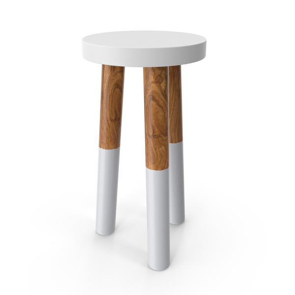 Dip-Dyed Stool PNG & PSD Images