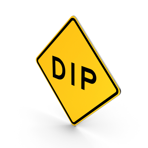 Dip Road Sign PNG & PSD Images