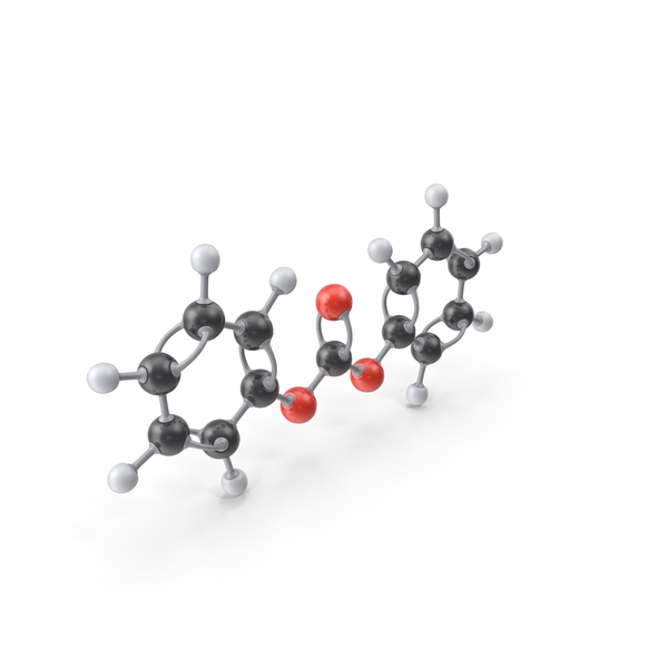 Diphenyl Carbonate Molecule PNG & PSD Images