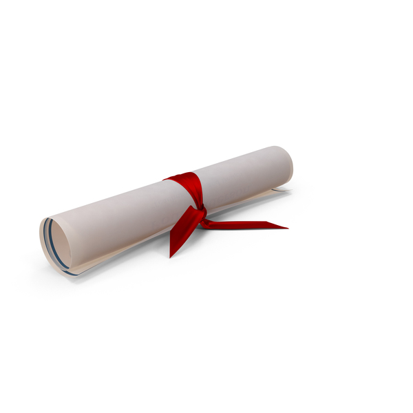Diploma Scroll PNG & PSD Images