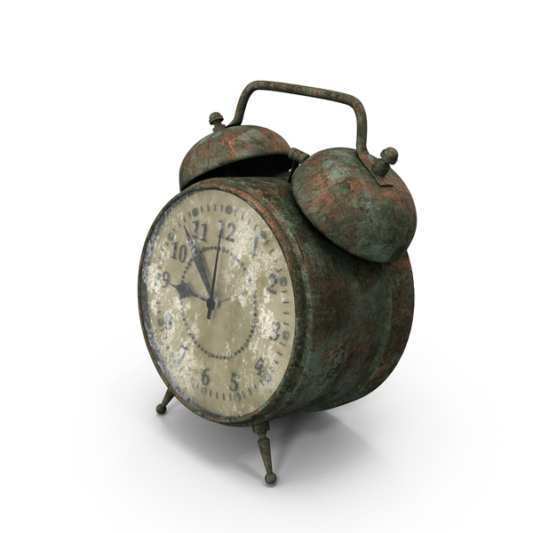 Dirty Alarm Clock PNG & PSD Images