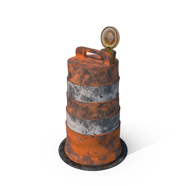 Dirty Barrel Barricade PNG & PSD Images
