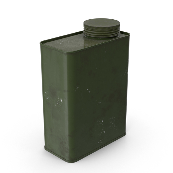 Dirty Metal Canister PNG & PSD Images