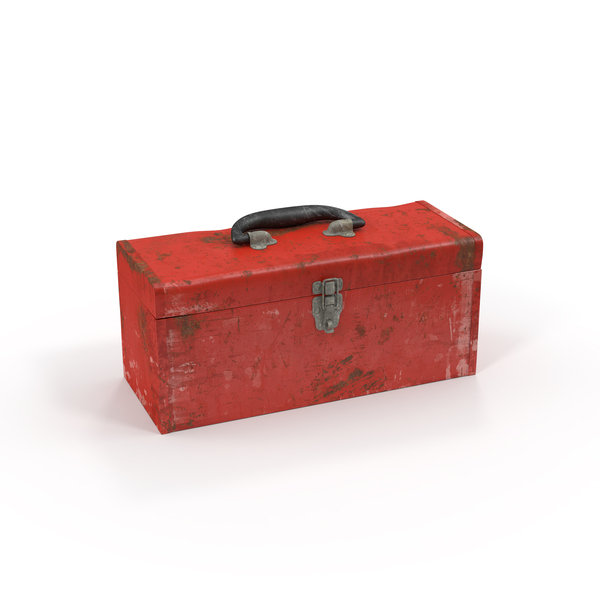 Dirty Metal Tool Box PNG & PSD Images