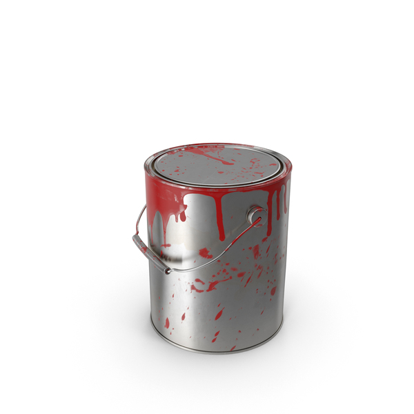 Dirty Paint Can PNG & PSD Images