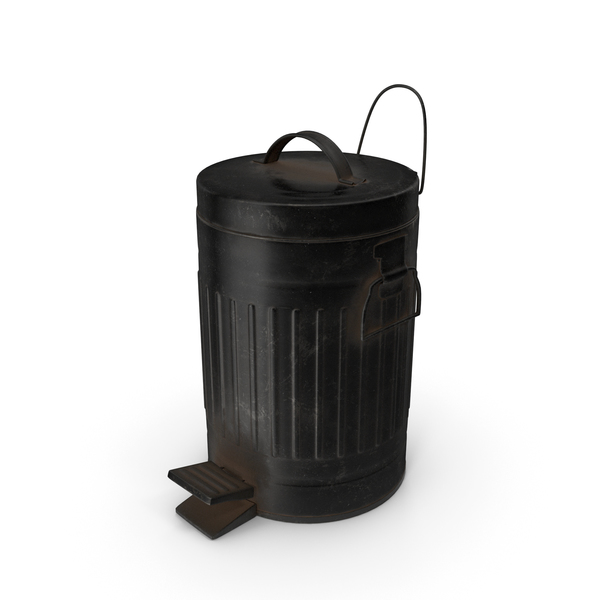 Dirty Pedal Trash Can PNG & PSD Images