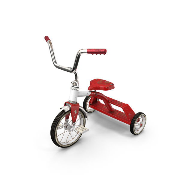 Dirty Vintage Tricycle PNG & PSD Images