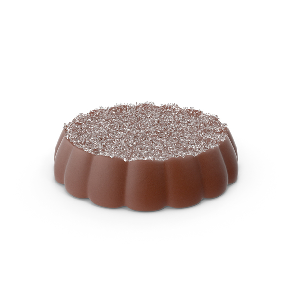 Disk Chocolate With Sugar PNG & PSD Images