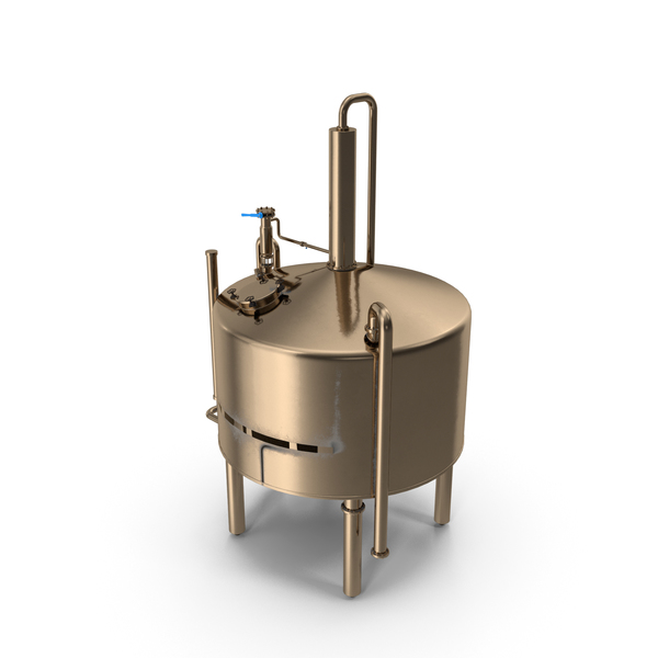Distillation Cooling Tank PNG & PSD Images