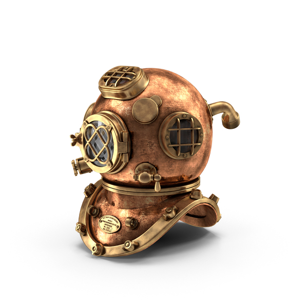 Diving Helmet Object