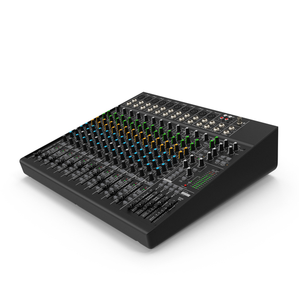 DJ Sound Mixing Board PNG & PSD Images