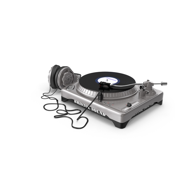 DJ Turntable Object