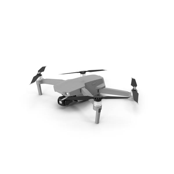 DJI Mavic Air2 Drone Quadcopter UAV with Camera PNG & PSD Images