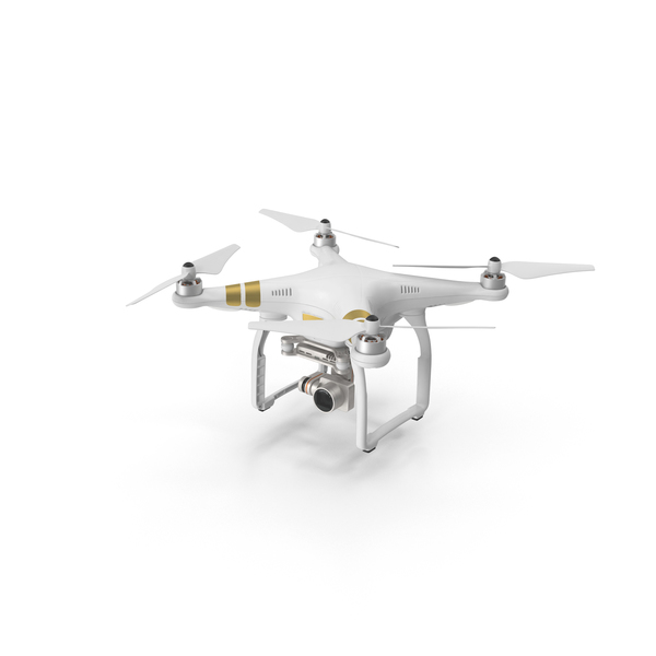 DJI Phantom 3 Professional Quadcopter Object