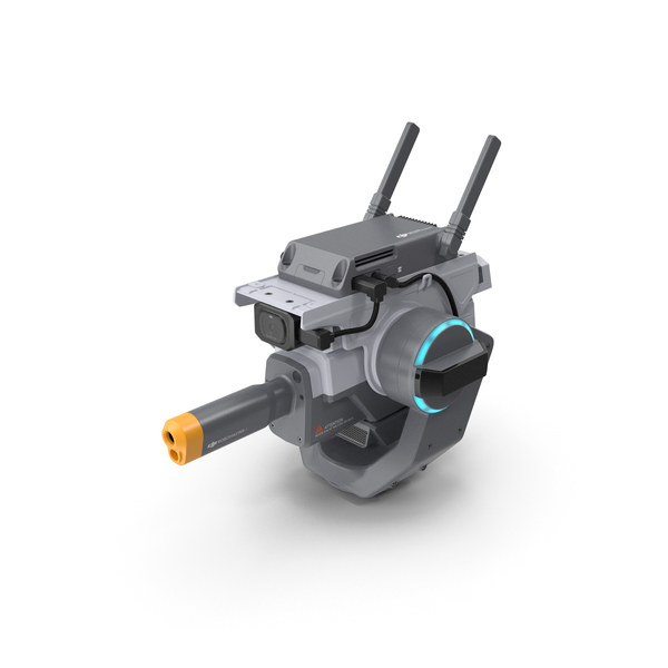 DJI RoboMaster S1 Mini Cannon PNG & PSD Images