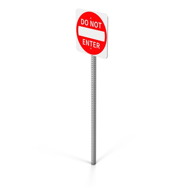 Do Not Enter Sign PNG & PSD Images