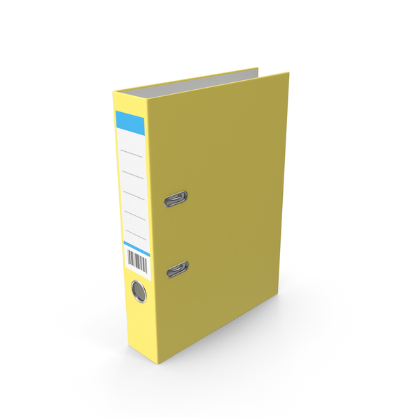 Document Binder Yellow PNG & PSD Images