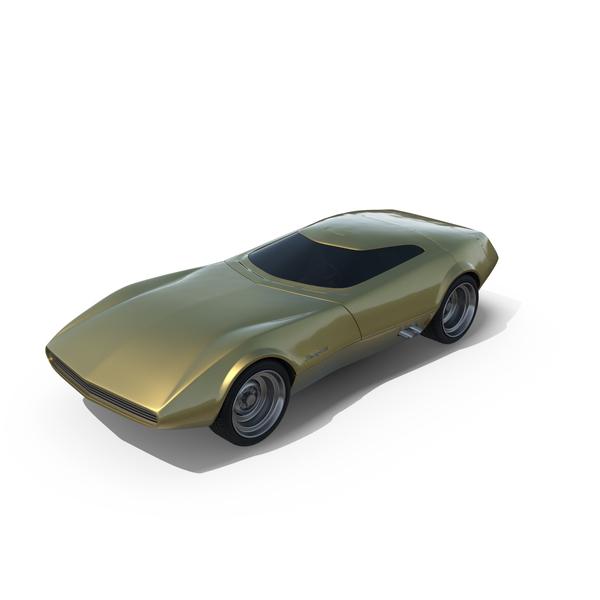 Fictional Automobile: Dodge Charger Concept PNG & PSD Images