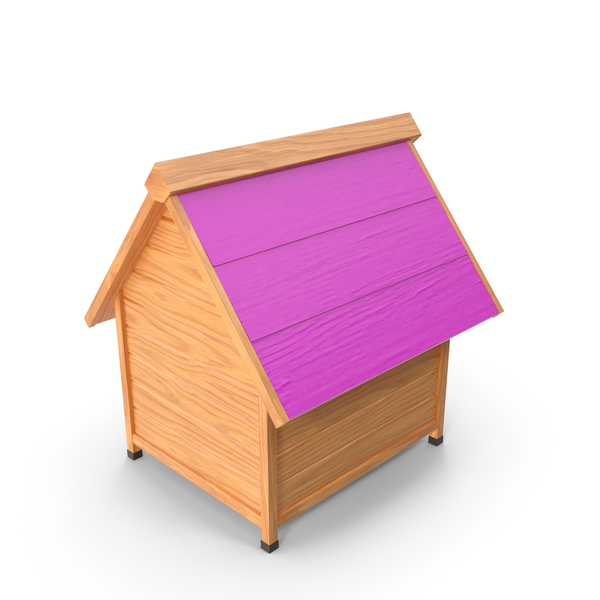 House: Dog Kennel Pink PNG & PSD Images