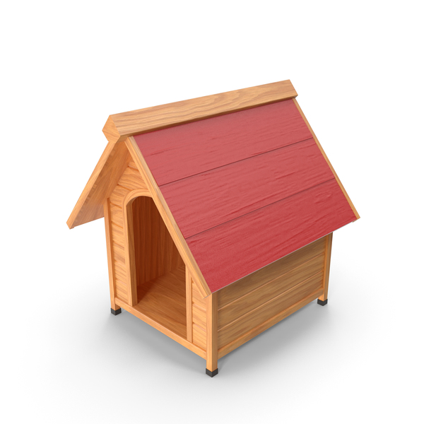 House: Dog Kennel Red PNG & PSD Images