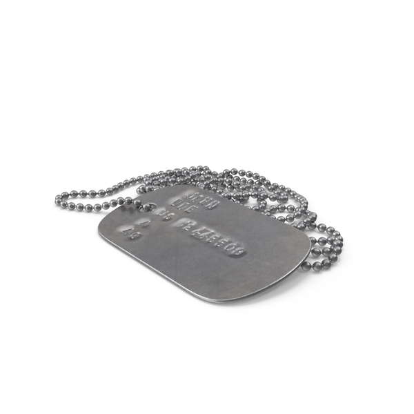 Dog Tag Object