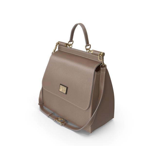 Dolce Gabbana Woman's Bag Brown PNG & PSD Images