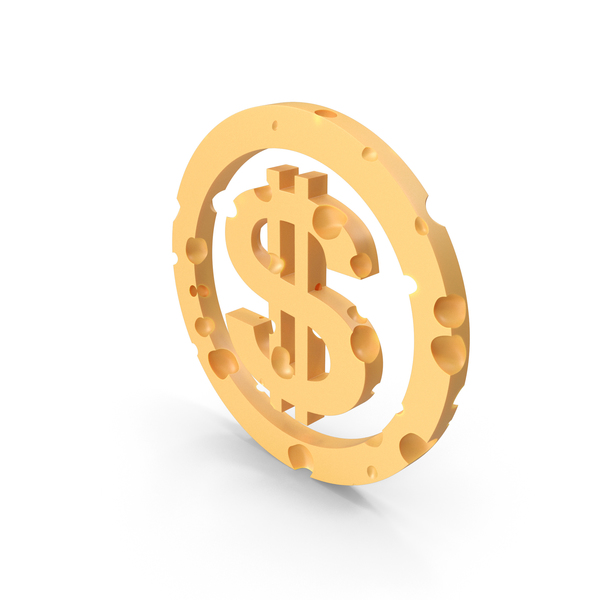 Symbols: Dollar Cheese PNG & PSD Images