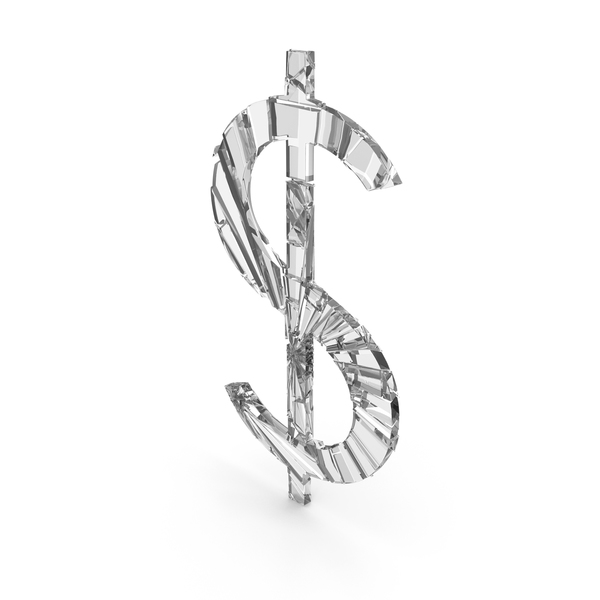 Dollar Cracked Glass PNG & PSD Images