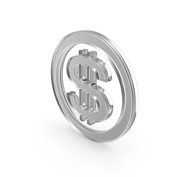 Dollar Glass Symbol PNG & PSD Images