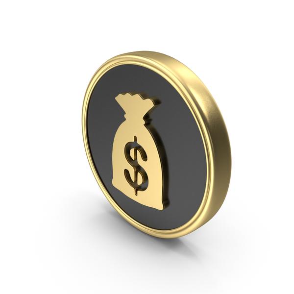 Dollar Money  Bag Coin Logo Symbol Icon PNG & PSD Images
