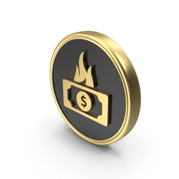 Bag: Dollar Money Fire Coin LogoSymbol Icon PNG & PSD Images