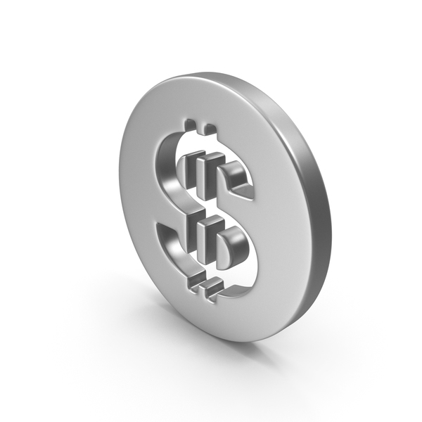 Dollar Steel or Silver PNG & PSD Images