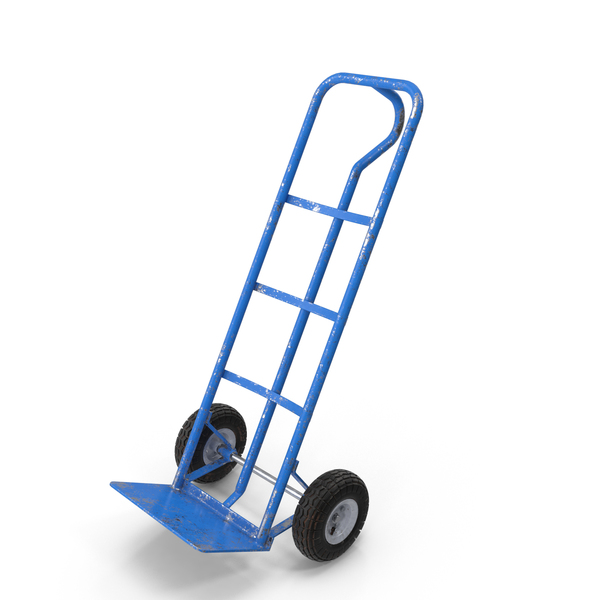 Dolly Hand-Truck PNG & PSD Images