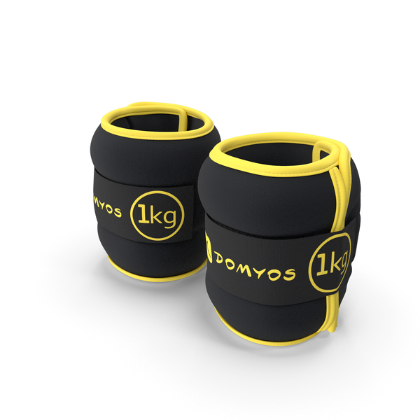 Domyos Adjustable Wrist and Ankle Weights PNG & PSD Images