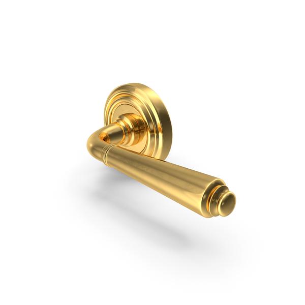 Door Handle Gold PNG & PSD Images