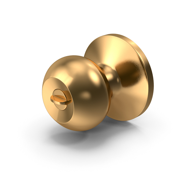 Door Knob Golden PNG & PSD Images