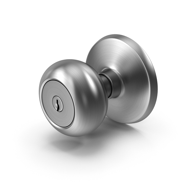 Door Knob With Keyhole 2 PNG & PSD Images